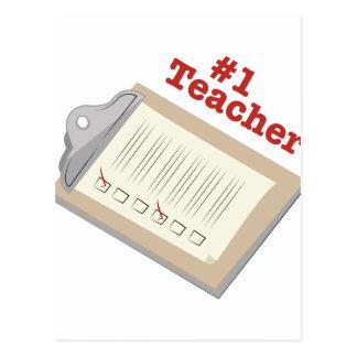 #1 Teacher Postcard