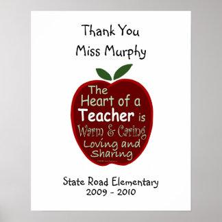 #1 Teacher Signature Poster