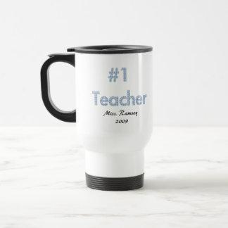 #1 Teacher Travel Mug
