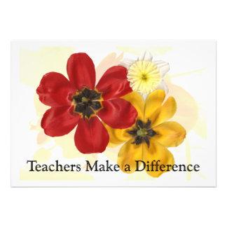 1 Teachers make a Difference Custom Invite