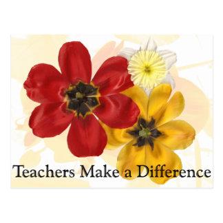 1 Teachers make a Difference Postcard