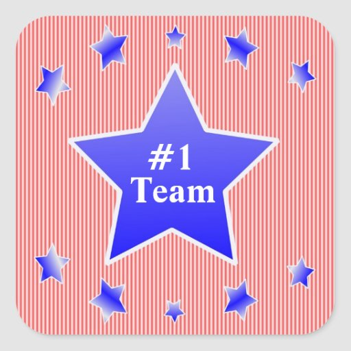 #1 Team, Or #1?,  Award Stickers