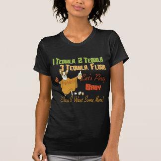 1 Tequila 2 Tequila 3 Tequila Floor T-Shirt