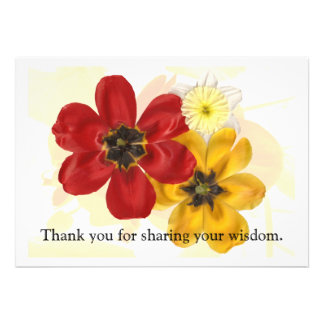 1 Thank you for sharing your wisdom Custom Invitations