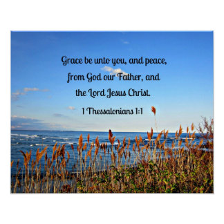 1 Thessalonians 1:1 Poster