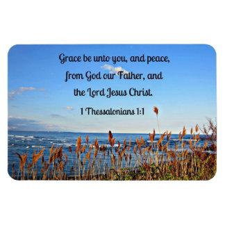 1 Thessalonians 1:1 Rectangular Photo Magnet