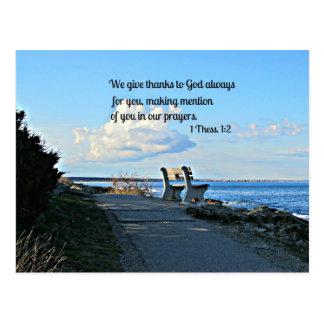 1 Thessalonians 1:2 Postcard