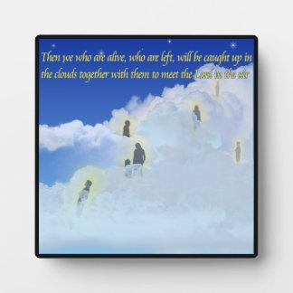 1 Thessalonians 4:17 Plaque