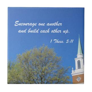 1 Thessalonians 5:11 Tile