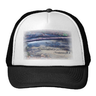 1 Thessalonians 5: 16- 18 Trucker Hat