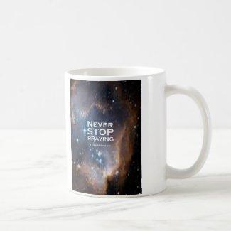 1 Thessalonians 5:17 Classic White Coffee Mug