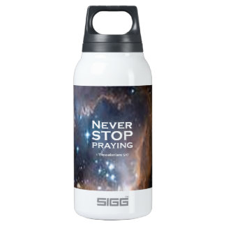 1 Thessalonians 5:17 Insulated Water Bottle