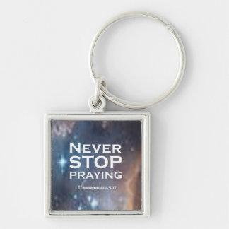 1 Thessalonians 5:17 Keychain