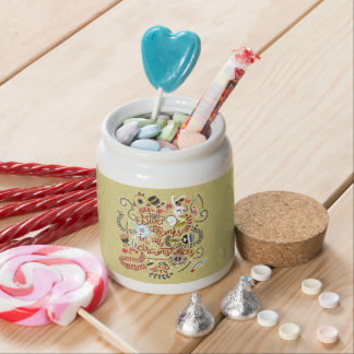 1 Thessalonians 5:18 Give Thanks In All Circumstan Candy Jar