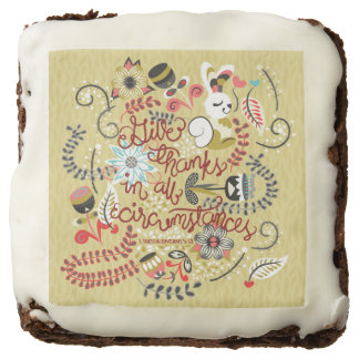 1 Thessalonians 5:18 Give Thanks In All Circumstan Chocolate Brownie