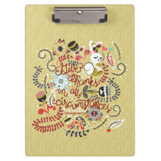1 Thessalonians 5:18 Give Thanks In All Circumstan Clipboard