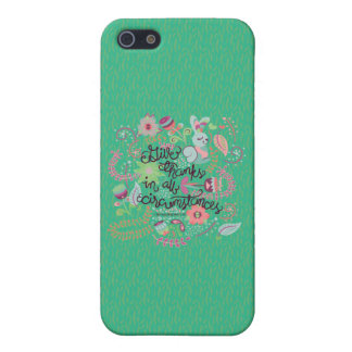 1 Thessalonians 5:18 Give Thanks In All Circumstan iPhone 5/5S Cover