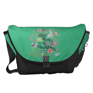1 Thessalonians 5:18 Give Thanks In All Circumstan Messenger Bag