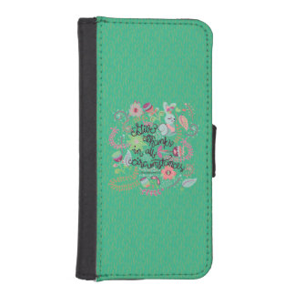 1 Thessalonians 5:18 Give Thanks In All Circumstan Phone Wallet Cases