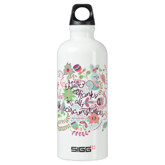 1 Thessalonians 5:18 Give Thanks In All Circumstan SIGG Traveler 0.6L Water Bottle