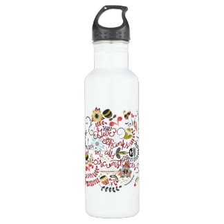 1 Thessalonians 5:18 Give Thanks In All Circumstan Water Bottle