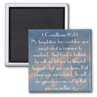 1 Thessalonians 5:18 Give thanks Fridge Magnets