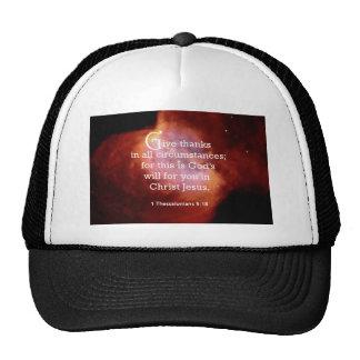 1 Thessalonians 5:18 Trucker Hat