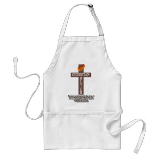 1 THESSALONIANS 5:8 CHRISTIAN SOLDIER ADULT APRON