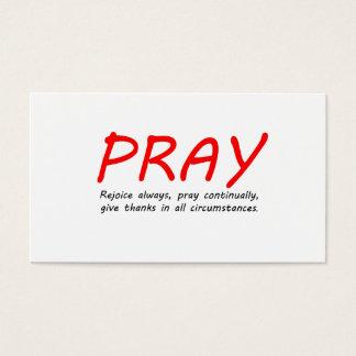 1 Thessalonians 5 Business Card