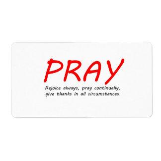 1 Thessalonians 5 Label