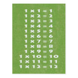 #1 Times Table Collectible Postcard