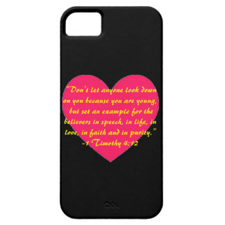 1 Timothy 4:12 Phone case