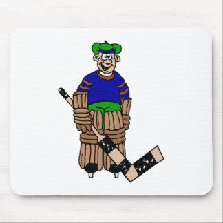1 tooth goalie mouse pad