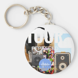 1 Tour Ringtone Keychain