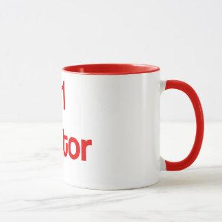 #1 Traitor Red Coffee Mug