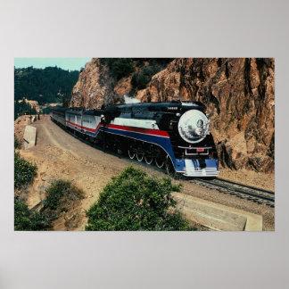 1 tren americano de la libertad (SP) 4449, el cabo Póster