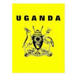 #1 Uganda Card Post Cards