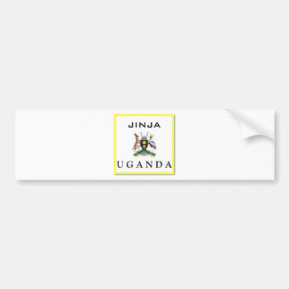 #1 Uganda Customized Products Car Bumper Sticker