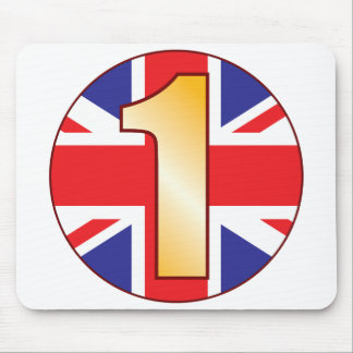1 UK Gold Mouse Pad