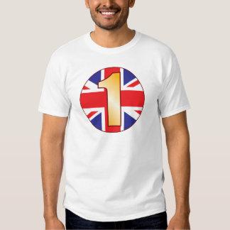 1 UK Gold T-Shirt