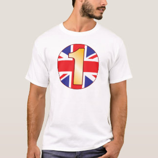 1 UK Gold T-Shirt