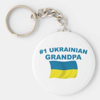 #1 Ukrainian Grandpa Keychain