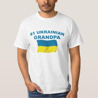 #1 Ukrainian Grandpa T-Shirt
