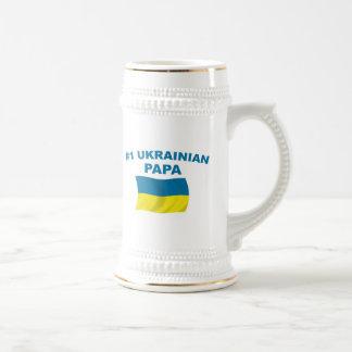 #1 Ukrainian Papa Beer Stein