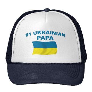 #1 Ukrainian Papa Trucker Hat