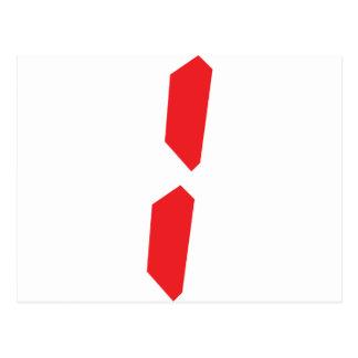 1 un despertador rojo digital postales