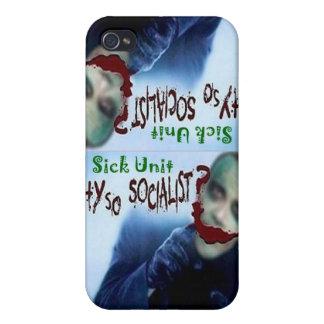 ¿1 unidad enferma, por qué tan socialista? IPhone iPhone 4 Protectores