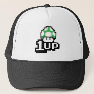 1 up Green Muschroom Trucker Hat