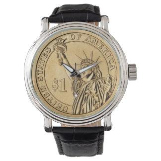 $1 USA Gold Coin Wristwatch