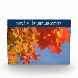 #1 votado de nuestros clientes concede la placa de